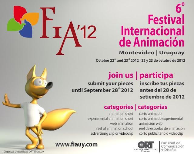 Uruguay, Festival internacional de animación- FIA´12