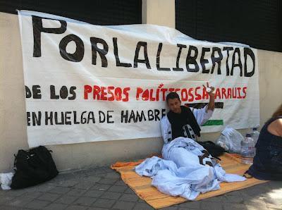 Fuerza para Lafkir Kaziza. Por la libertad del Sáhara!
