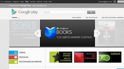 Actualidad Informática. Google Play Libros disponible en España. Rafael Barzanallana