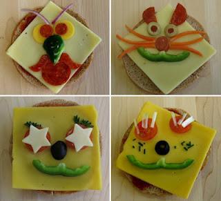 Los Niños también comen Frutas y Verduras