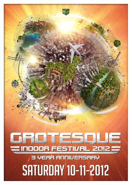 Grotesque Indoor Festival, otro festivalazo en Holanda