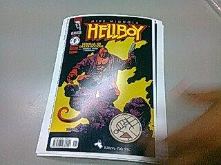 Hell YES! : HellBoy en LimaComics 2012