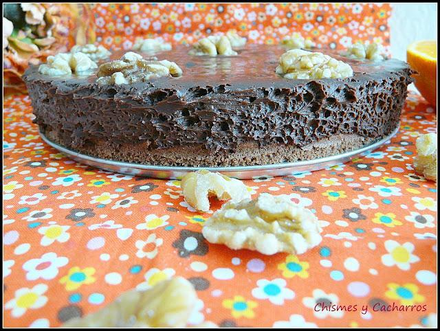 Tarta de Chocolate a la Naranja