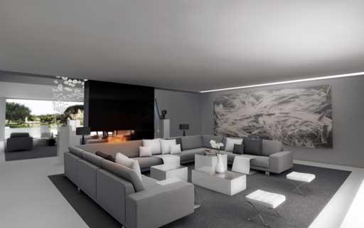 Nueva propuesta de interiorismo a cero para una vivienda - Interiorismo en madrid ...