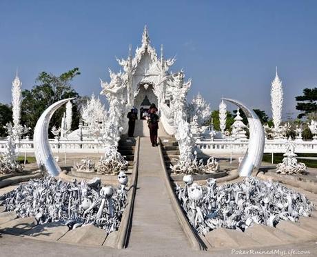 Entrada Templo Blanco Chiang Rai: Templo Negro, Templo Blanco.