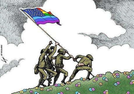 El ejército norteamericano celebra su primer Orgullo LGTB