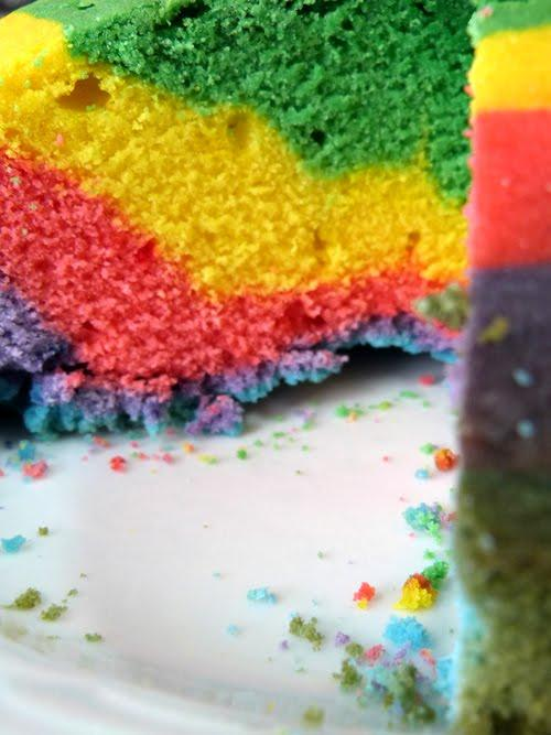 otoño de colores | torta arco iris