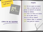 Gastronomadas Salamanca: cuaderno notas