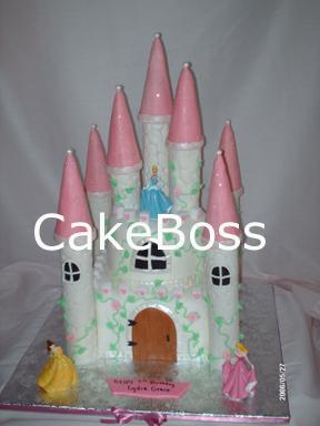 castillo con torres delgado