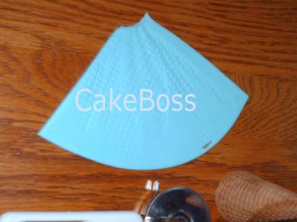 Uso de impresión de cortar la pasta de azúcar