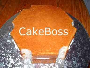 pasteles apilados