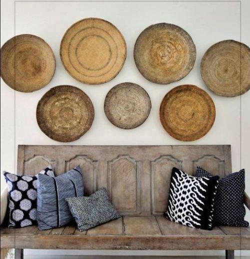 Cestas para decorar paredes – Baskets as wall art