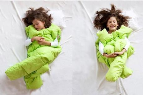 sacos de dormir verdes