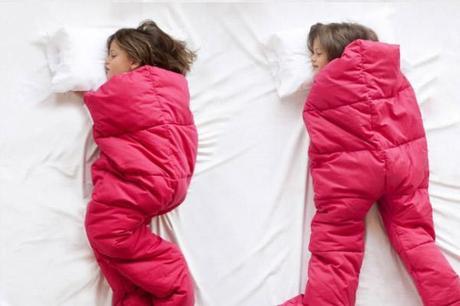 sacos de dormir rojos