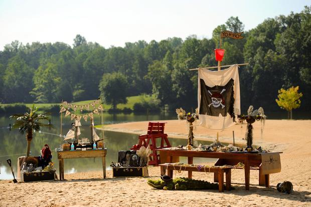 Parche de pirata. Fiestas infantiles.   Ideas y material