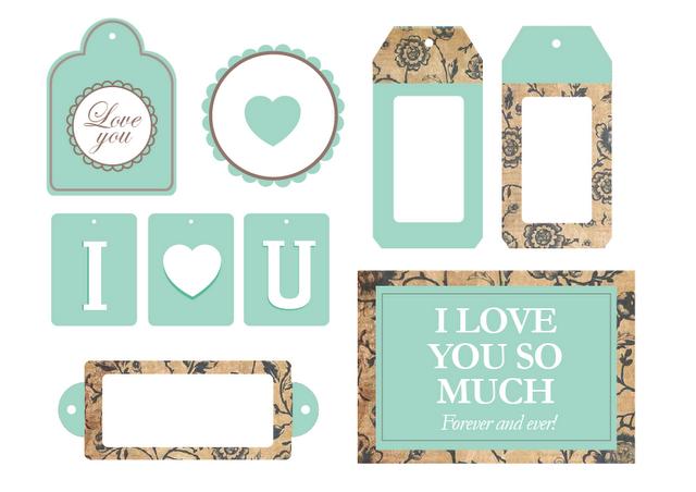 Imprimibles by Srta. Edwina #1 - Paperblog