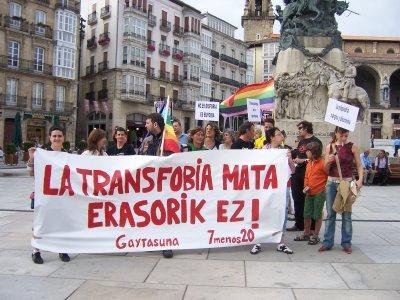 Euskadi podría convertirse en la segunda comunidad en reconocer los derechos de lxs transexuales