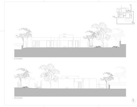 Nueva propuesta para una vivienda unifamiliar de A-cero ubicada en Ourense