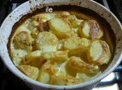Papas crema Patatas nata
