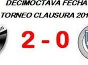 Colón:2 Godoy Cruz:0 (Fecha 18°)