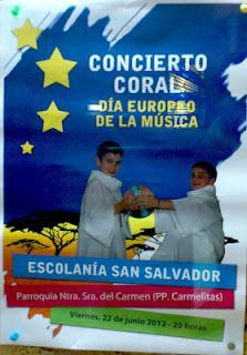 La Escolanía San Salvador cierra curso