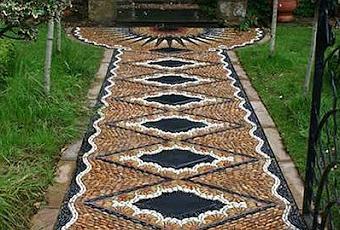 Vereda de piso de mosaico paperblog for Pisos para veredas