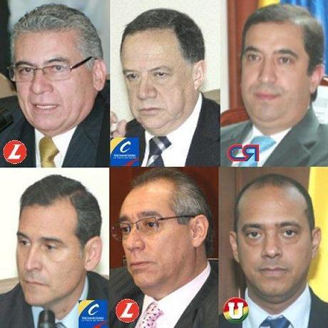Los doce conciliadores de la corrupcion