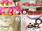 Mesas dulces: cupcakes