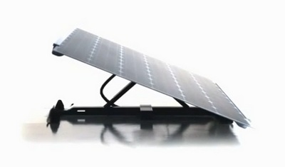 Solarfighter un peque o panel solar que integra for Panel solar pequeno