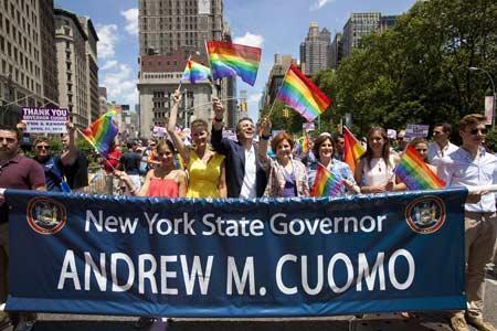 Nueva York celebra el primer aniversario de su matrimonio igualitario