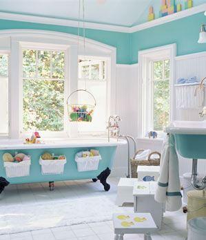 Un cuarto de baño para niños - Paperblog