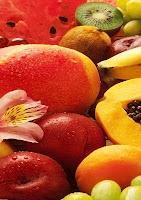 como mezclar las frutas