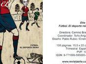Ellas juegan fútbol nuevo número Eñe. Revista para leer