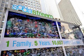 Coca-Cola demanda a SodaStream por su campaña de street marketing