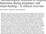 Tratamiento farmacológico Depresión durante embarazo lactancia Nielsen Damkier