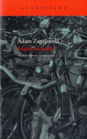 Mano invisible, de Adam Zagajewski