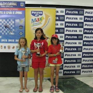 Pilar López García Campeona de España Sub -10
