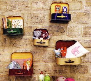 Ideas para reciclar tus maletas