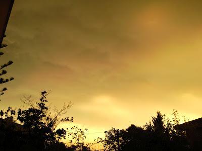 El cielo quemado