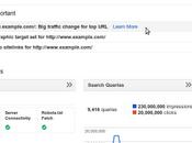 Google webmaster tools. nuevos cambios