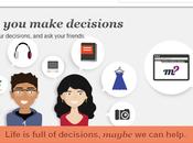 Maybe, plataforma para conocer mejor decisión