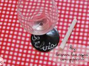 #33. Decora copas pizarra/ Blackboard decoration glasses
