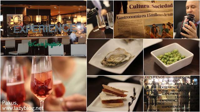 Una maravillosa gourmet experience paperblog - Gourmet experience goya ...