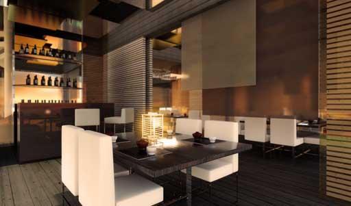 nuevo proyecto de interiorismo a cero para el restaurante