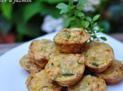 Mini cocas verduras, fáciles rápidas