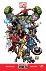 Marvel NOW!: Cuatro series confirmadas (de 21) y rumores sobre otras