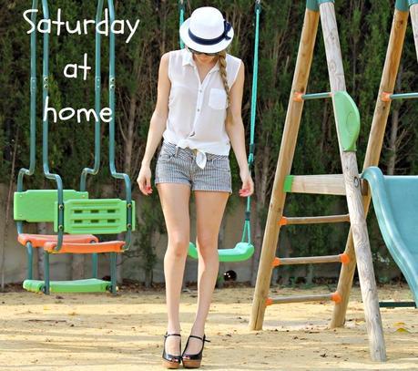 Saturday at home