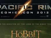 pósters para Comic-Con Hobbit´y `Pacific Rim´