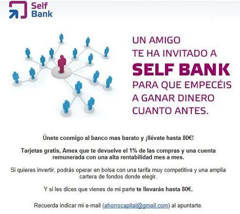 Self bank forex comision custodia