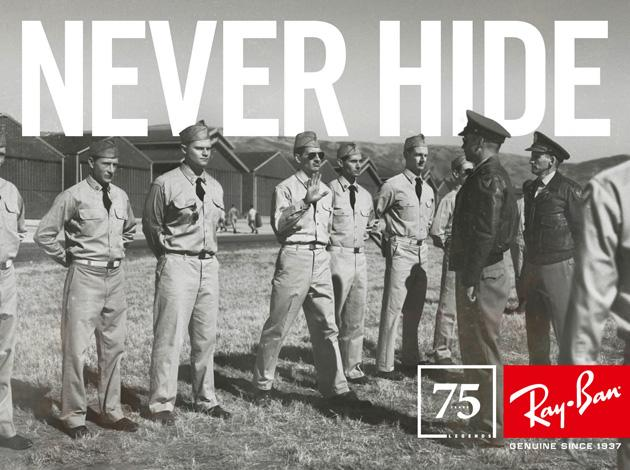 RAY-BAN: Never Hide